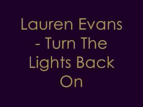 Lauren Evans - Turn The Lights Back On