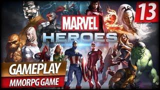 Marvel Heroes MMO Gameplay - Kingpin, Elektra & Bullseye Boss Fight (Commentary)