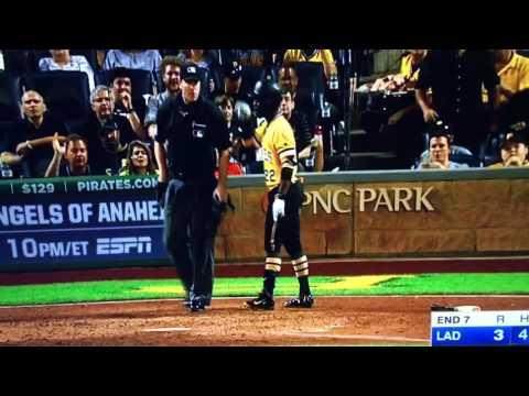 Andrew McCutchen Ejected Dodgers