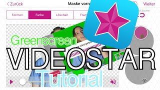 German Greenscreen Tutorial videostar || Josily