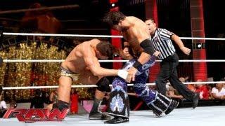 Cody Rhodes vs. Fandango: Raw, August 26, 2013