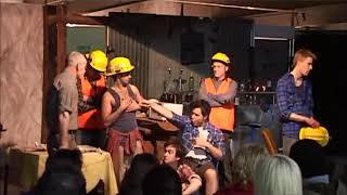 Mill Boys. Scene 1. Collingwood Underground Theatre. 2011.