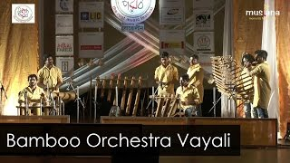 Bamboo Orchestra | Vayali Folklore Group | Kerala | Instrumental