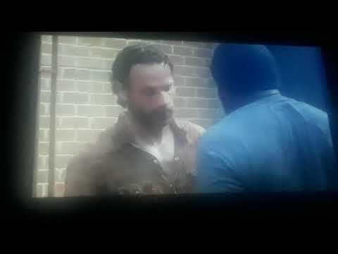 Reacting to the walking dead  bad lip reading part 1