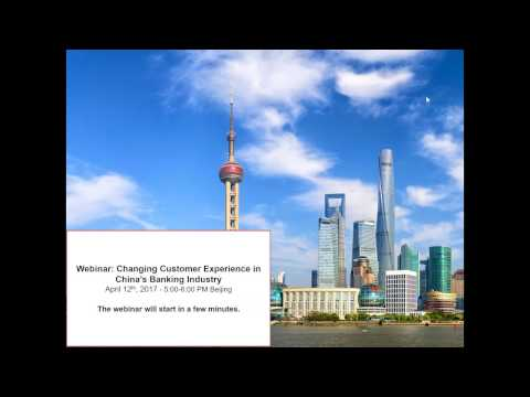 Changing Customer Experience in China's Banking Industry