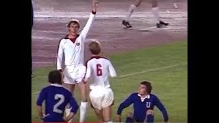 1978 Fortuna Düsseldorf - FC Universitatea Craiova 1-1 | Europacup | Tor: Rudi Bommer