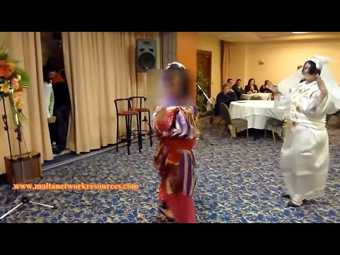 Traditional Libyan Dance Hagalla at International Night 1 (Remade Video)