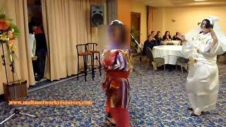 Traditional Libyan Dance Hagalla at International Night 1 (Remade Video) -   رقص ليبي