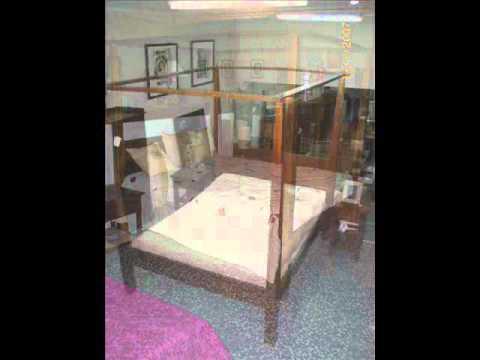 Loft lucena cama con dosel lq25.wmv   youtube