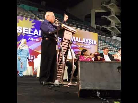 Himpunan Selamatkan Malaysia di Stadium Melawati  - Tun Dr. Mahathir