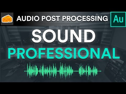 🎤 How to Make Your Voice-Over's Sound Professional 🎮 - Adobe Audition