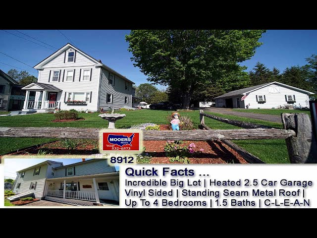 Homes For Sale In Maine   16 Chandler ST Houlton ME Real Estate Video   MOOERS REALTY #8912