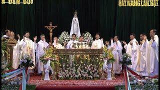 Giáo xứ Sơn Miêng  đón ĐỨC MẸ FATIMA THÁNH DU - phần 3 - camera Nghĩa vân 0913391760