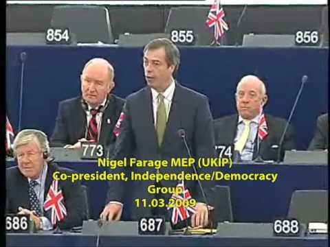 Farage and Hannan confront EU Centralism