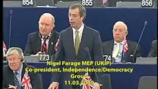 Farage and Hannan confront EU Centralism