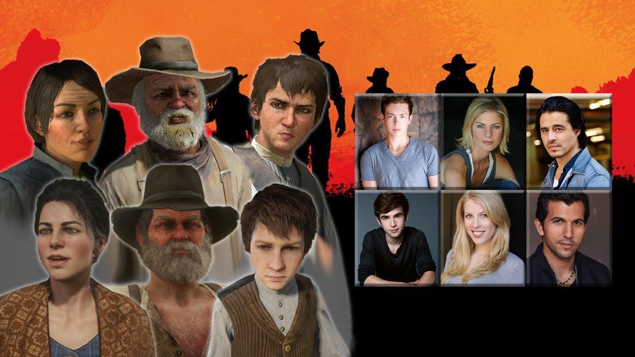 Red Dead Redemption Characters Voice Comparison Jack Abigail