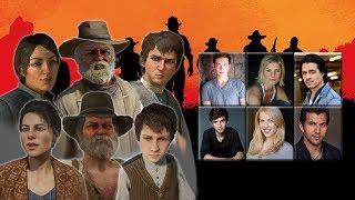 [Red Dead Redemption] Characters Voice Comparison -
