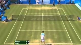 Andy Murray's crazy drop shot