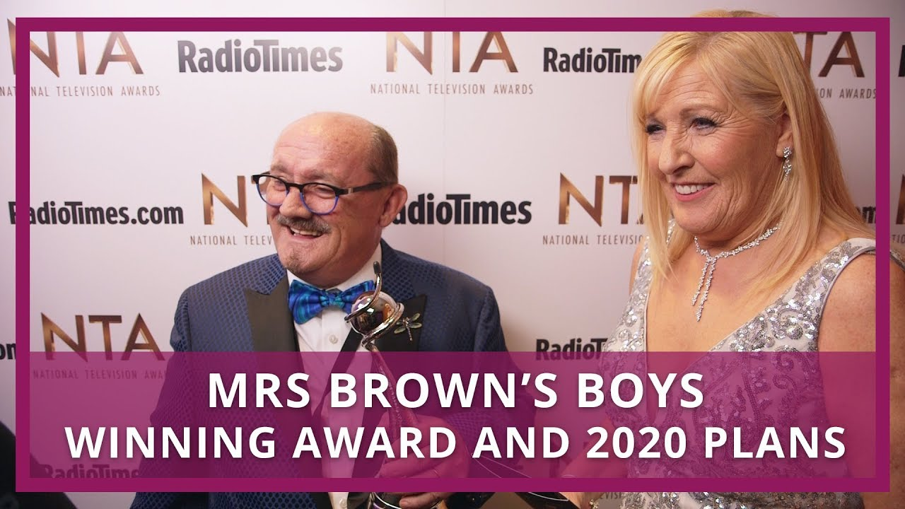 Mrs Browns Boys 2020 Christmas Special Mrs Brown's Boys   Winning award and 2020 plans   YouTube