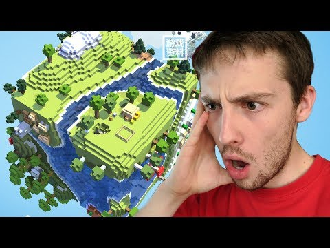Playing the Minecraft CHINESE VERSION !