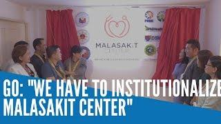 Go hoping for Senate OK on bill for Malasakit Center by November or December