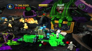 Lego Batman 2: DC Super Heroes (PC) walkthrough - Tower Defiance
