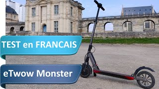 e-TWOW Monster V Evolution 14Ah : Test entre puissance et raffinement