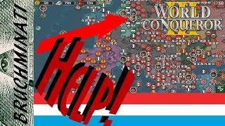 World Conqueror 3 | Luxembourg 1939 #1 Axis Troop Spam? What Axis Troop Spam? (Axis & Allies Mod)