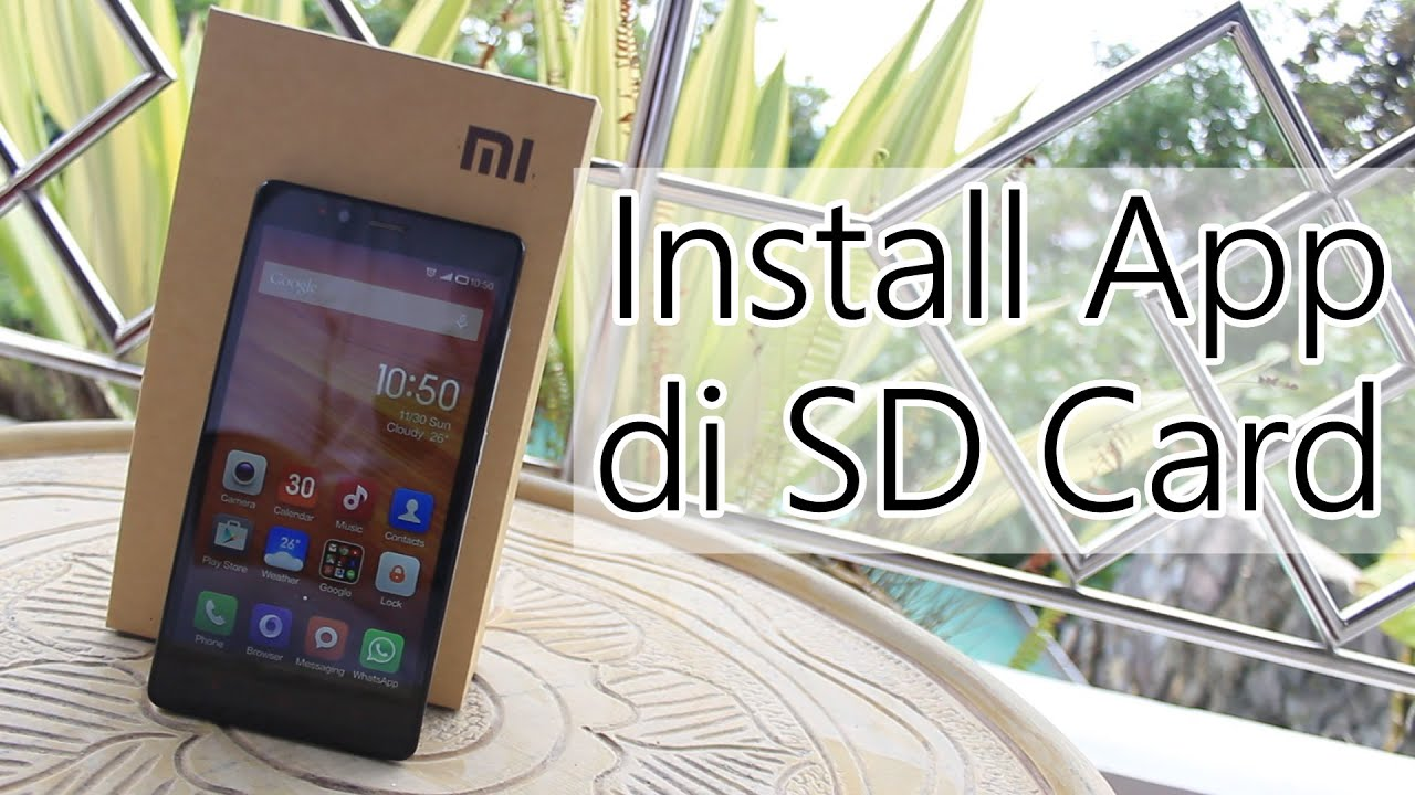 how to move apps to sd card in redmi 2