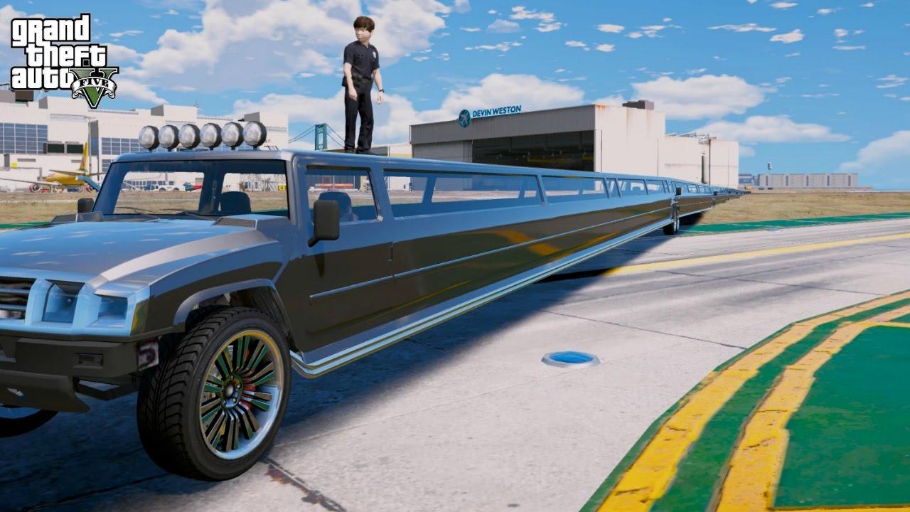 gta 5 mods longest car in the world world s longest car mod
