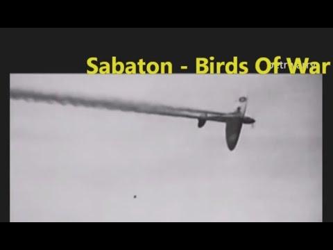 Sabaton - Birds of War (video + lyrics on screen)