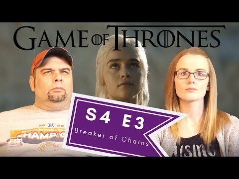 Game Of Thrones | S4 E3 Breaker Of Chains | Reaction | Review