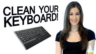 How to Clean a Keyboard: Electronics Cleaning Essentials: Easy Cleaning Ideas (Clean My Space)