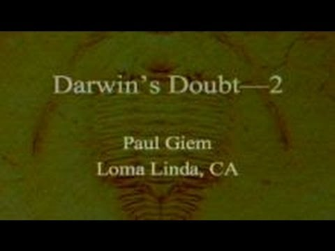 Darwin's Doubt (Part 2) 10-5-2013 by Paul Giem