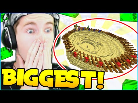 WORLD'S BIGGEST MONEY WARS MAP! - SOLO Money Wars #37