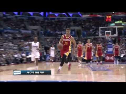 [11.4.13] Chandler Parsons - Fast Break Dunk vs Clippers