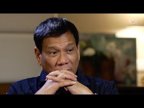 Duterte: If I have to kill you, I'll kill you
