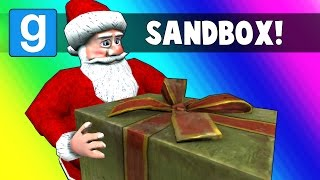 Gmod Sandbox - Delivering Presents with Santa! (Garry's Mod Funny Moments) thumbnail