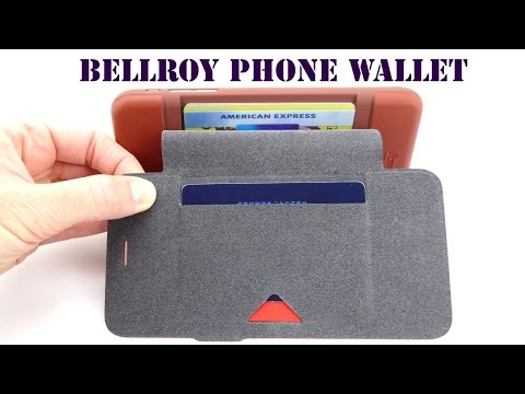 Beat the Bulge with the Bellroy Phone Wallet for iPhone 6s Plus!