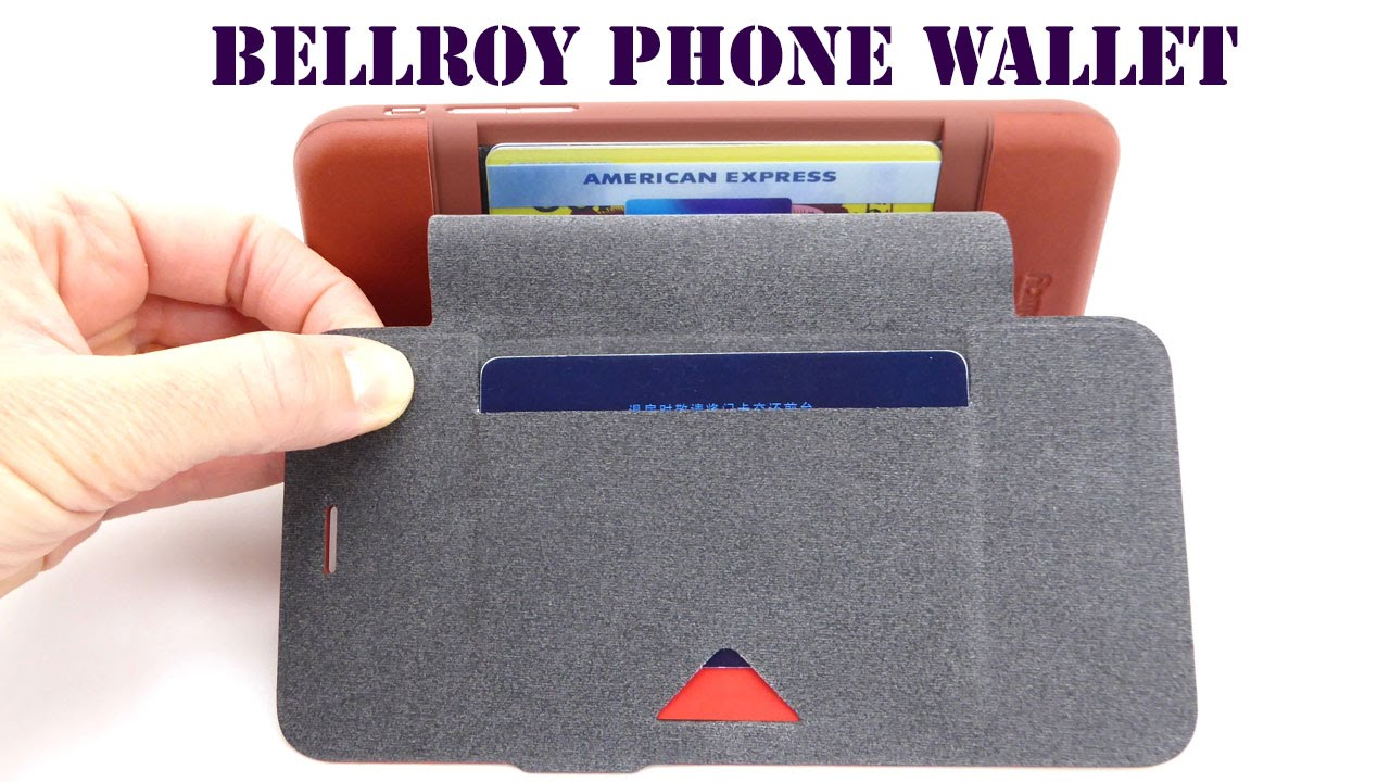 newest 84906 8588b Beat the Bulge with the Bellroy Phone Wallet for iPhone 6s Plus!