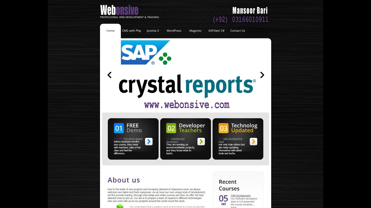 Sap crystal reports tutorial 1 of 5 youtube sap crystal reports tutorial 1 of 5 baditri Image collections