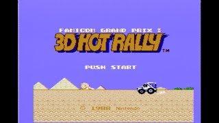 [ファミコン]ファミコングランプリⅡ 3Dホットラリー / 3D HOT RALLY