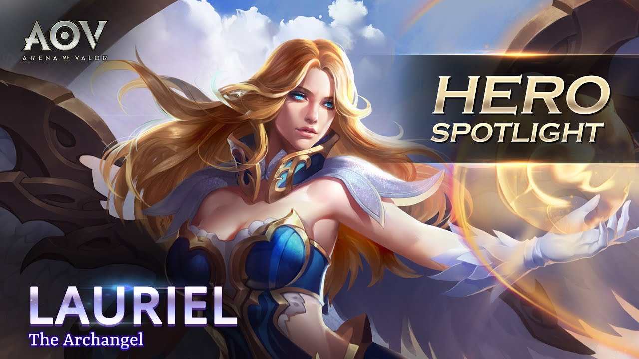 Lauriel Hero Spotlight Garena Aov Arena Of Valor