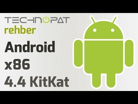 Sanal Bilgisayara Android x86 4.4 KitKat Kurulumu