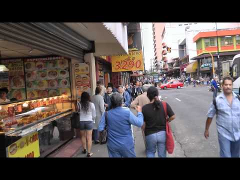 San Jose Downtown Costa Rica 1080 50p Full HD