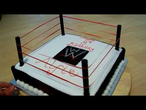 Wrestling Cake Youtube