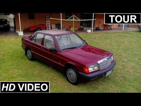 1993 Mercedes-Benz 180E Interior, Exterior Tour and Start Up