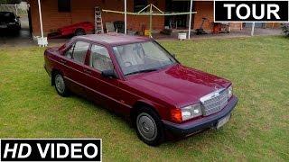 1993 Mercedes-Benz 180E Interior, Exterior Tour and Start Up