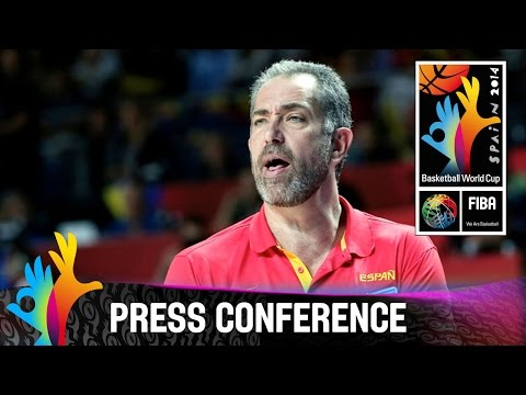 Spain v Senegal - Post Game Press Conference - 2014 FIBA Basketball World Cup