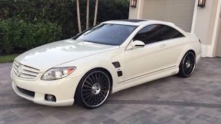 Mercedes Benz Special CL550 Model Videos